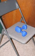 Chair & Weights